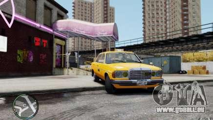Mercedes-Benz 230 E Taxi pour GTA 4