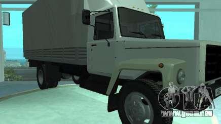 Elongatus de gaz-3309 pour GTA San Andreas