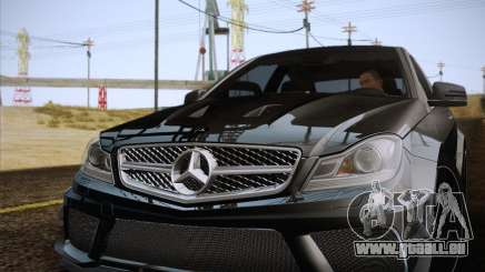 Mercedes-Benz C63 AMG Black Series für GTA San Andreas