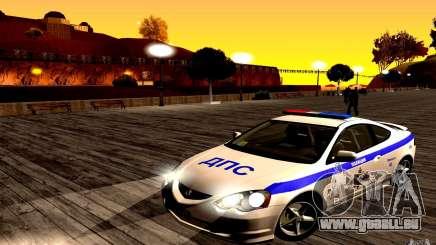 Acura RSX-S Police pour GTA San Andreas