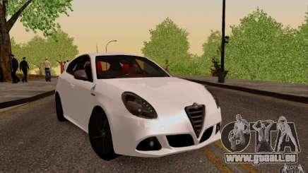 Alfa Romeo Giulietta 2010 für GTA San Andreas