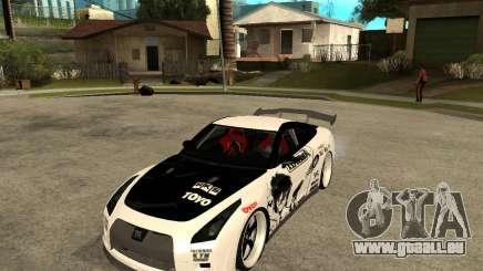 Nissan Skyline R35 für GTA San Andreas