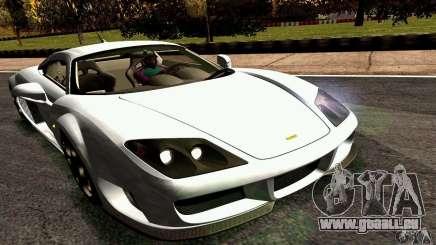 Noble M600 2010 V1.0 pour GTA San Andreas