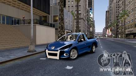 Peugeot Hoggar Escapade für GTA 4
