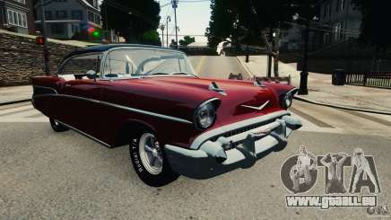 Chevrolet Bel Air Hardtop 1957 Light Tun für GTA 4