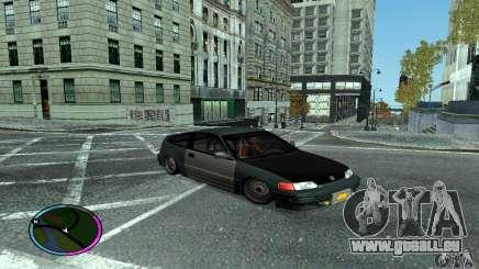 Honda CRX Tuned für GTA San Andreas