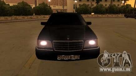 Mercedes-Benz S400 w140 v2.0 pour GTA San Andreas