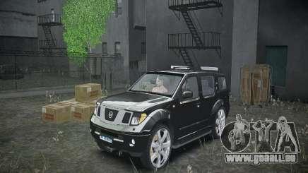 Nissan Pathfinder 2010 pour GTA 4