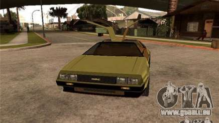 Golden DeLorean DMC-12 für GTA San Andreas