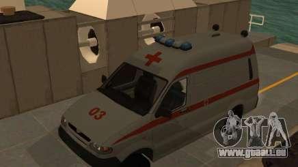 UAZ Simba SC ambulance pour GTA San Andreas