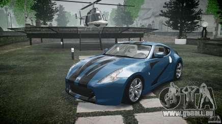 Nissan 370Z Coupe 2010 für GTA 4