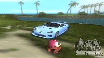 Lexus LFA pour GTA Vice City