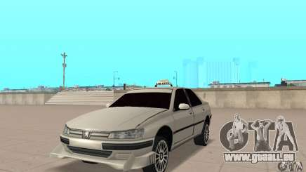 Peugeot 406 TAXI pour GTA San Andreas