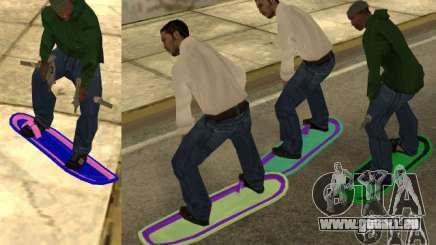 Hoverboard bttf für GTA San Andreas