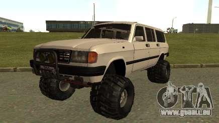 31022 Volga GAS 4 x 4 für GTA San Andreas