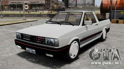 Volkswagen Saveiro 1990 Turbo pour GTA 4