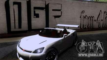 Saturn Sky Roadster pour GTA San Andreas