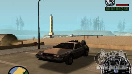Crysis Delorean BTTF1 für GTA San Andreas