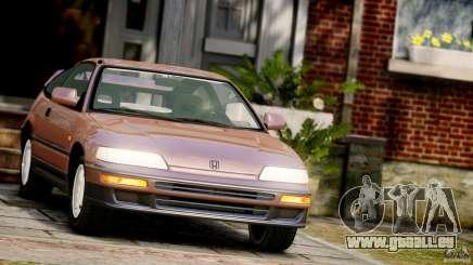 Honda CR-X SiR 1991 pour GTA 4