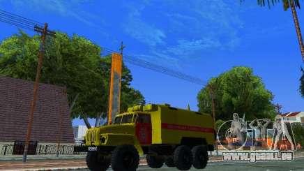 Ural 4320 GORSVET pour GTA San Andreas