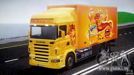 Scania R580 Tandem pour GTA 4