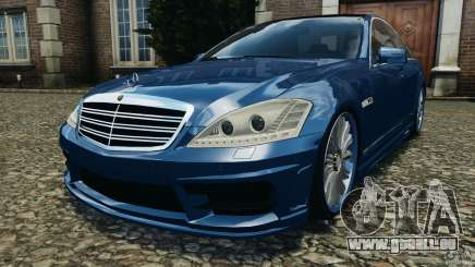 Mercedes-Benz S W221 Wald Black Bison Edition für GTA 4