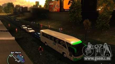 Bus Kramat Djati für GTA San Andreas