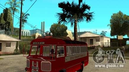 Pompier PAZ 672 pour GTA San Andreas
