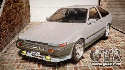 Toyota Sprinter Trueno 1986 pour GTA 4