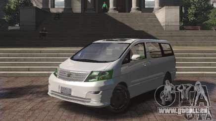 Toyota Alphard v2.0 für GTA 4