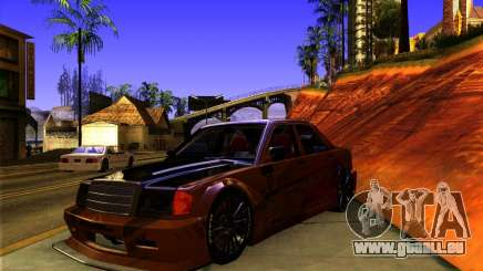 Mercedes Benz 190E - SpeedHunters Edition pour GTA San Andreas