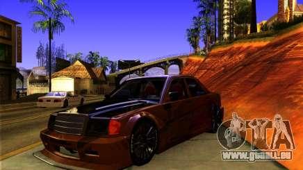 Mercedes Benz 190E - SpeedHunters Edition pour GTA San Andreas