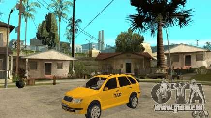 Skoda Fabia Combi Taxi pour GTA San Andreas