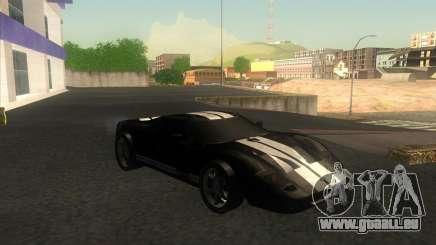 Ford GT stock für GTA San Andreas