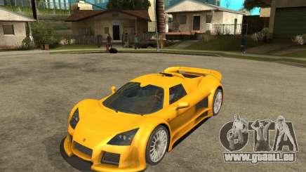 Gumpert Appolo für GTA San Andreas