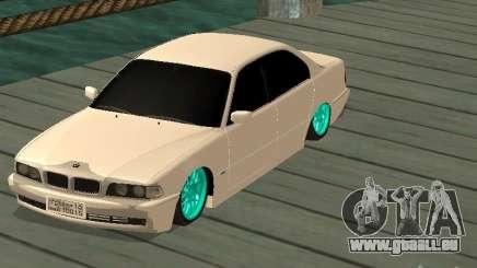 BMW 750i JDM für GTA San Andreas