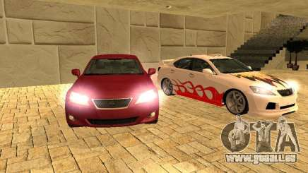 Lexus IS 350 für GTA San Andreas