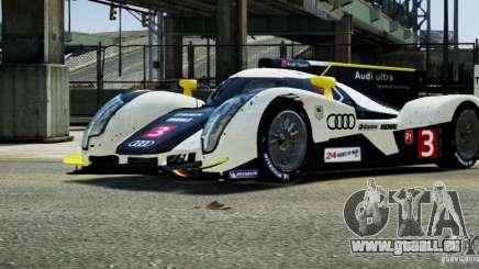 Audi R18 TDI 2011 für GTA 4