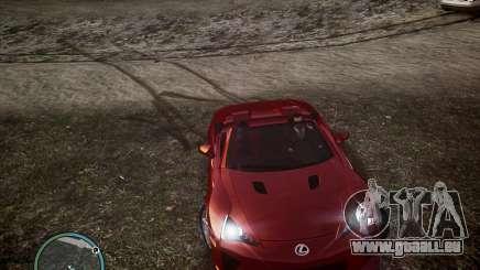 Lexus LF-A Roadster für GTA 4