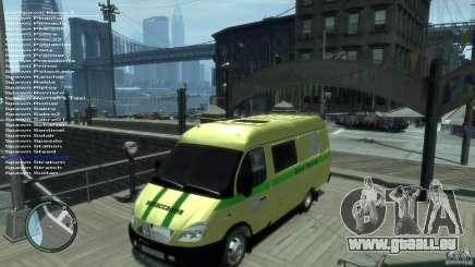 Gazelle 2705-Transport-Dienstleistungen für GTA 4