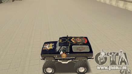 Chevrolet Blazer K5 Monster Skin 2 pour GTA San Andreas