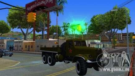 Camion KrAZ Parade pour GTA San Andreas