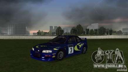 Subaru Impreza 22B Rally Edition für GTA Vice City