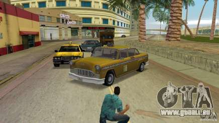Cabbie HD pour GTA Vice City