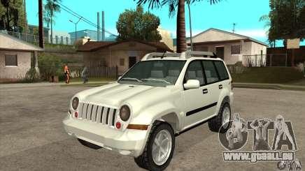 Jeep Liberty 2007 pour GTA San Andreas