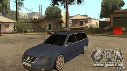 Volkswagen Passat B5.5 2.5TDI 4MOTION pour GTA San Andreas