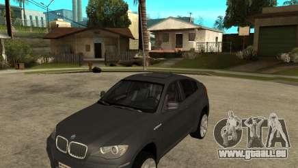 BMW X6 M pour GTA San Andreas