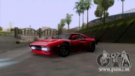 Ferrari 288 GTO für GTA San Andreas