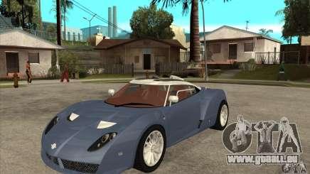 Spyker C12 Zagato für GTA San Andreas