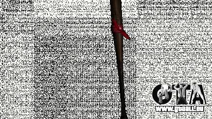 Mèches avec un brassard rouge pour GTA San Andreas
